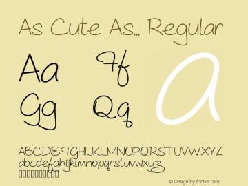 As Cute As...