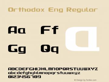 Orthodox Eng