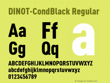 DINOT-CondBlack