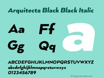 Arquitecta Black