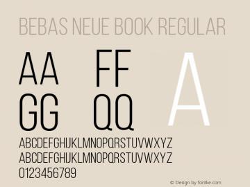 Bebas Neue Book