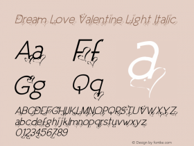 Dream Love Valentine