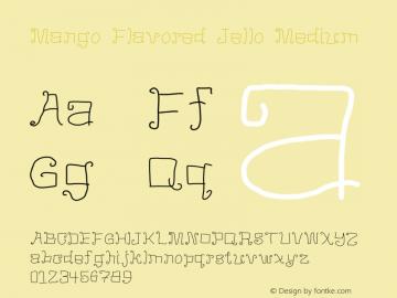 Mango Flavored Jello