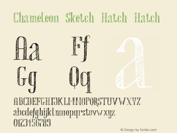 Chameleon Sketch Hatch