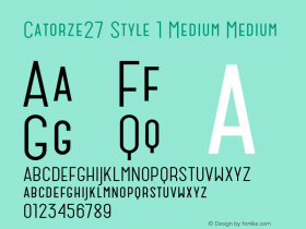 Catorze27 Style 1 Medium