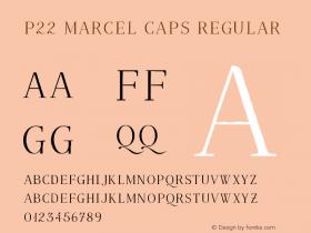 P22 Marcel Caps