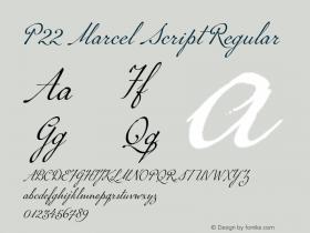 P22 Marcel Script