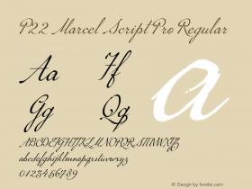 P22 Marcel Script Pro
