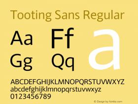 Tooting Sans