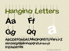 Hanging Letters