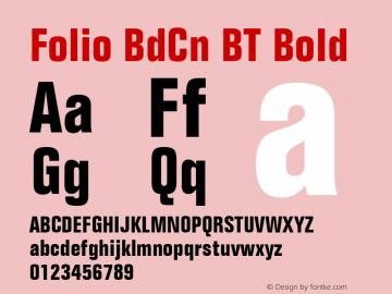 Folio BdCn BT