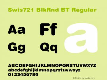 Swis721 BlkRnd BT