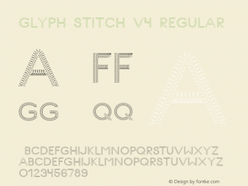 Glyph Stitch
