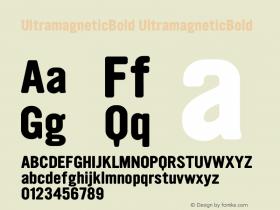 UltramagneticBold
