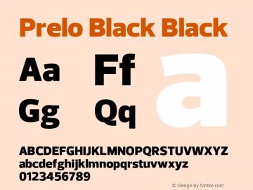 Prelo Black