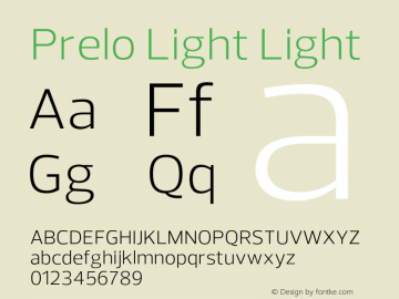 Prelo Light