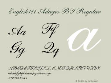 English111 Adagio BT