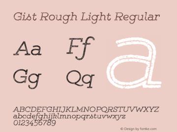 Gist Rough Light