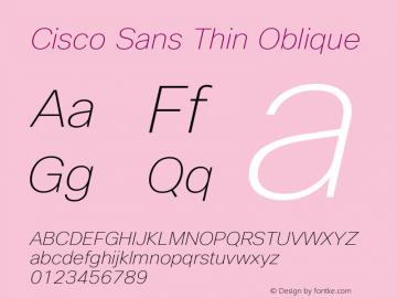Cisco Sans