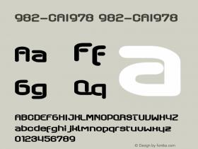 982-CAI978
