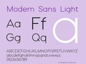 Modern Sans