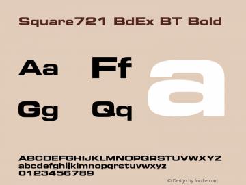 Square721 BdEx BT