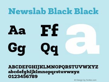 Newslab Black