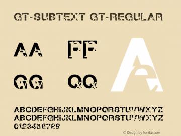 GT-Subtext