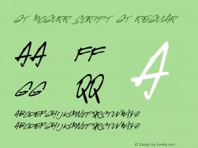 GT-McGurr Script