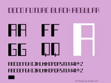 Deco Future Black