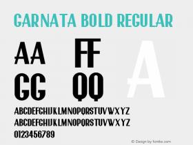 Garnata Bold