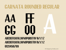 Garnata Rounded
