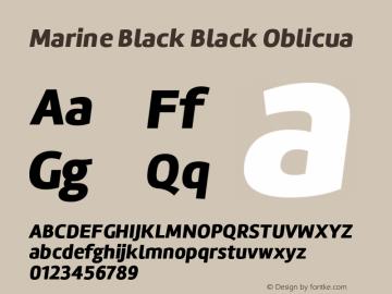 Marine Black