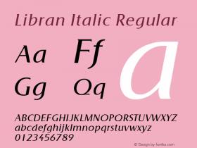 Libran Italic