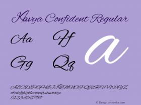 Kavya Confident
