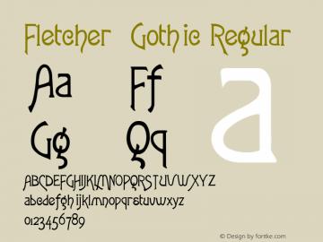 Fletcher-Gothic