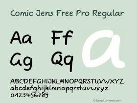 Comic Jens Free Pro