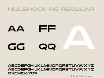 Nulshock Rg