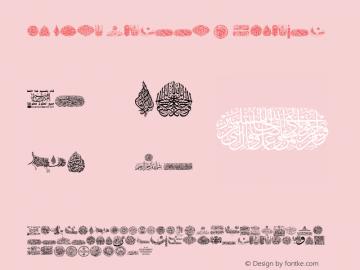 My Font Quraan 2