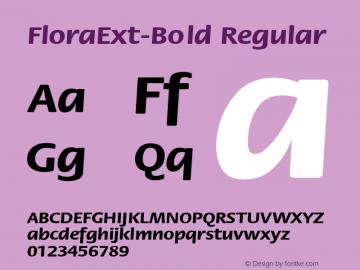 FloraExt-Bold