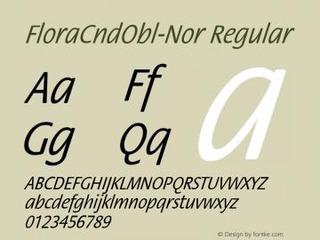 FloraCndObl-Nor