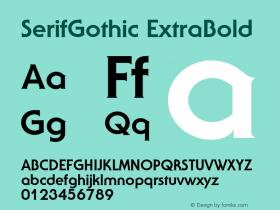 SerifGothic