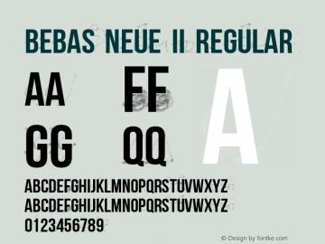 Bebas Neue II