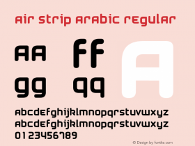 Air Strip Arabic