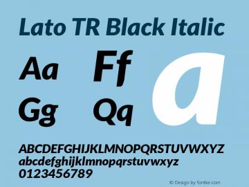 Lato TR Black