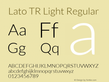 Lato TR Light