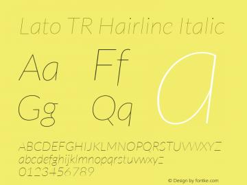 Lato TR Hairline