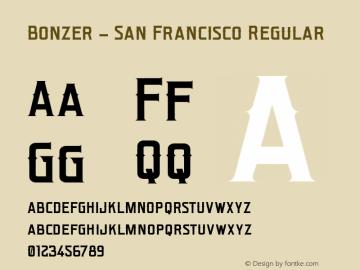 Bonzer - San Francisco