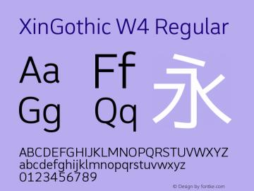 XinGothic W4