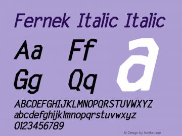 Fernek Italic